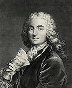 Jean Marie Leclair (1697-1764) French composer and violinist.
