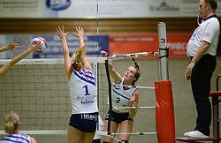 14-12-2013 VOLLEYBAL: SLIEDRECHT SPORT - VC SNEEK: SLIEDRECHT<br /> Sliedrecht Sport wint met 3-0 van Sneek / Ester Hullegie<br /> &copy;2013-FotoHoogendoorn.nl