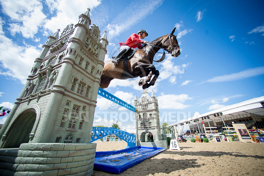 Pius  Schwizer  (SUI) & Balou Rubin R - Rolex Grand Prix - CSI5* Jumping - Royal Windsor Horse Show - Home Park, Windsor, United Kingdom - 14 May 2017