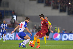 12.02.2019, Stadio Olimpico, Rom, ITA, UEFA CL, AS Roma vs FC Porto, Achtelfinale, Hinspiel, im Bild Lorenzo Pellegrini, Felipe Lorenzo Pellegrini, Felipe during the UEFA Champions League round of 16, 1st leg match between AS Roma and FC Porto at the Stadio Olimpico in Rom, Italy on 2019/02/12. EXPA Pictures © 2019, PhotoCredit: EXPA/ laPresse/ Luciano Rossi/AS Roma<br /> L<br /> <br /> *****ATTENTION - for AUT, SUI, CRO, SLO only*****