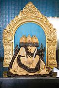 PUTTARPATHI, INDIA - 27th October 2019 - Shrine of Hindu God Brahma, Puttarpathi, Andhra Pradesh, South India