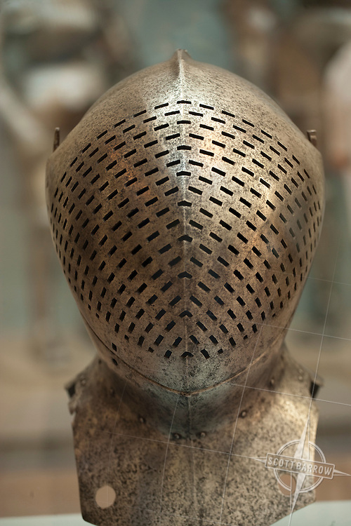 Armor collection at Metropolitan Museum of Art, NYC.