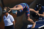 Marie Wattel (FRA) competes on Women's 50 m Butterfly during the French Open 2018, at Aquatic Center Odyssée in Chartres, France on July 7th to 8th, 2018 - Photo Stephane Kempinaire / KMSP / ProSportsImages / DPPI