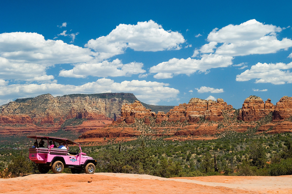 Pink Jeep Tours Sedona Arizona Greg Vaughn Photography