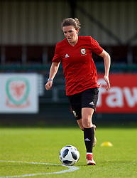 NEWPORT, WALES - Tuesday, November 6, 2018: Wales' Helen Ward during a training session at Dragon Park ahead of two games against Portugal. (Pic by Paul Greenwood/Propaganda)