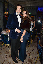 RUPERT FINCH and his wife LADY NATASHA RUFUS-ISAACS at Fashion For The Brave at The Dorchester, Park Lane, London on 8th November 2013.