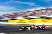 Nov 15-18, 2012: Pedro MARTINEZ DE LA ROSA, HRT F1 TEAM..© Jamey Price/XPB.cc