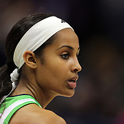 Skylar Diggins, Notre Dame, in action during the Connecticut V Notre Dame Final match won by Notre Dame during the Big East Conference, 2013 Women's Basketball Championships at the XL Center, Hartford, Connecticut, USA. 11th March. Photo Tim Clayton
