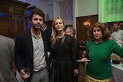CONRAD SHAWCROSS; CAROLINA MAZZOLARI; JILL RITBLAT,  The Brown's Hotel Summer Party hosted by Sir Rocco Forte and Olga Polizzi, Brown's Hotel. Albermarle St. London. 14 May 2015