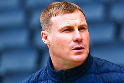 Mansfield Town manager David Flitcroft - Mandatory by-line: Ryan Crockett/JMP - 04/05/2019 - FOOTBALL - Stadium MK - Milton Keynes, England - Milton Keynes Dons v Mansfield Town - Sky Bet League One