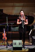 "Kristina Train at Herbie Hancock's ""Seven Decades: The Birthday Celebration"" at Carnegie Hall. June 24, 2010"