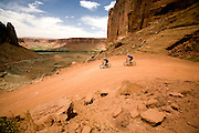 White Rim Mountain Bike Tour, Moab, Utah.
