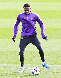 Dedryk Boyata of Manchester City during the training session at The Etihad Campus ahead of the UEFA Champions League clash with FC Barcelona - Photo mandatory by-line: Matt McNulty/JMP - Mobile: 07966 386802 - 23/02/2015 - SPORT - Football - Manchester - Etihad Stadium