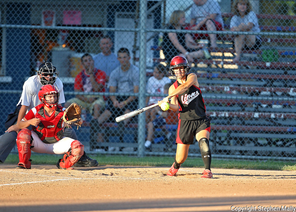 at the 4A Regional softball game between Washington and Linn-Mar at Jefferson High School at 1243 20th Street SW in Cedar Rapids on Saturday, July 10, 2010. (Stephen Mally/Freelance)