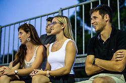 Girlfriend of Aljaz Radinski (SLO) at ATP Challenger Zavarovalnica Sava Slovenia Open 2018, on August 6, 2018 in Sports centre, Portoroz/Portorose, Slovenia. Photo by Vid Ponikvar / Sportida