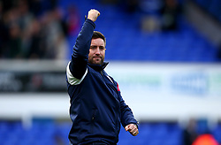 Bristol City head coach Lee Johnson celebrates the win over Ipswich Town - Mandatory by-line: Robbie Stephenson/JMP - 30/09/2017 - FOOTBALL - Portman Road - Ipswich, England - Ipswich Town v Bristol City - Sky Bet Championship