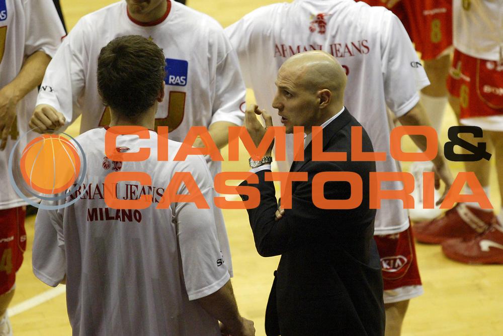 DESCRIZIONE : Milano Lega A1 2006-07 Armani Jeans Milano Snaidero Udine<br /> GIOCATORE : Djordjevic Schultze<br /> SQUADRA : Armani Jeans Milano<br /> EVENTO : Campionato Lega A1 2006-2007 <br /> GARA : Armani Jeans Milano Snaidero Udine<br /> DATA : 10/03/2007 <br /> CATEGORIA : Ritratto Curiosita<br /> SPORT : Pallacanestro <br /> AUTORE : Agenzia Ciamillo-Castoria/G.Cottini