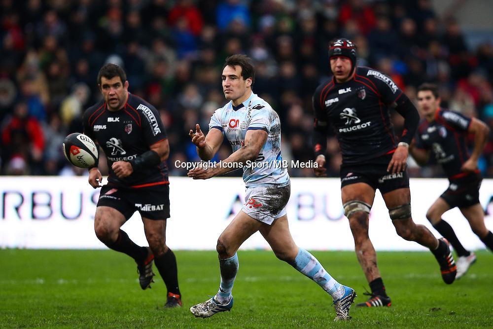 Benjamin Dambielle - 28.12.2014 - Toulouse / Racing Metro - 14eme journee de Top 14 <br />Photo : Manuel Blondeau / Icon Sport