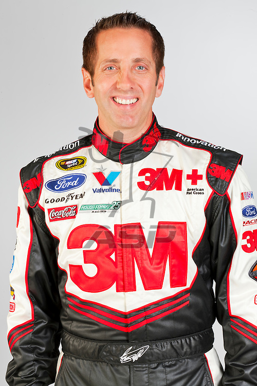 Mooresville, NC - December 07, 2011:  The 3M Ford Fusion driven by Greg Biffle.