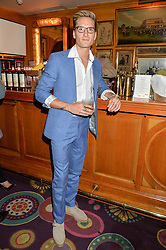 OLLIE PROUDLOCK at a party for the UK launch of Mr Boho held at Annabel's, 44 Berkeley Square, London on 19th May 2016.
