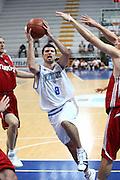DESCRIZIONE : Roseto Degli Abruzzi Giochi del Mediterraneo 2009 Mediterranean Games Turchia Italia Turkey Italy Final Men<br /> GIOCATORE : Andrea Cinciarini <br /> SQUADRA : Italia Italy<br /> EVENTO : Roseto Degli Abruzzi Giochi del Mediterraneo 2009<br /> GARA : Turchia Italia Turkey Italy <br /> DATA : 04/07/2009<br /> CATEGORIA : tiro penetrazione<br /> SPORT : Pallacanestro<br /> AUTORE : Agenzia Ciamillo-Castoria/C.De Massis<br /> Galleria : Giochi del Mediterraneo 2009<br /> Fotonotizia : Roseto Degli Abruzzi Giochi del Mediterraneo 2009 Mediterranean Games Turchia Italia Turkey Italy Final Men <br /> Predefinita :
