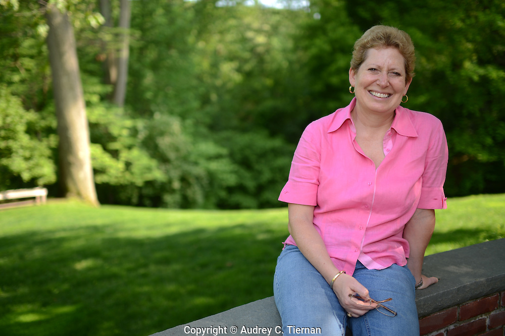 Mill Neck, NY:  Wednesday, May 16, 2012-- Susan Altamore Carusi, a La Salle University alumna.     © Audrey C. Tiernan