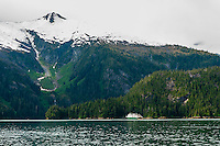 Wilderness Explorer (small cruise ship), Takatz Bay, Chichagof Island, Inside Passage, Southeast Alaska USA.