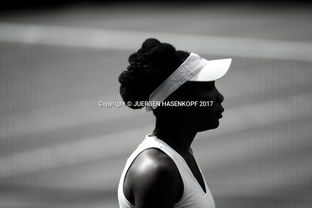 Silhouette von VENUS WILLIAMS (USA),Profil,Portrait.<br /> <br /> Tennis - Wimbledon 2017 - Grand Slam ITF / ATP / WTA -  AELTC - London -  - Great Britain  - 13 July 2017.