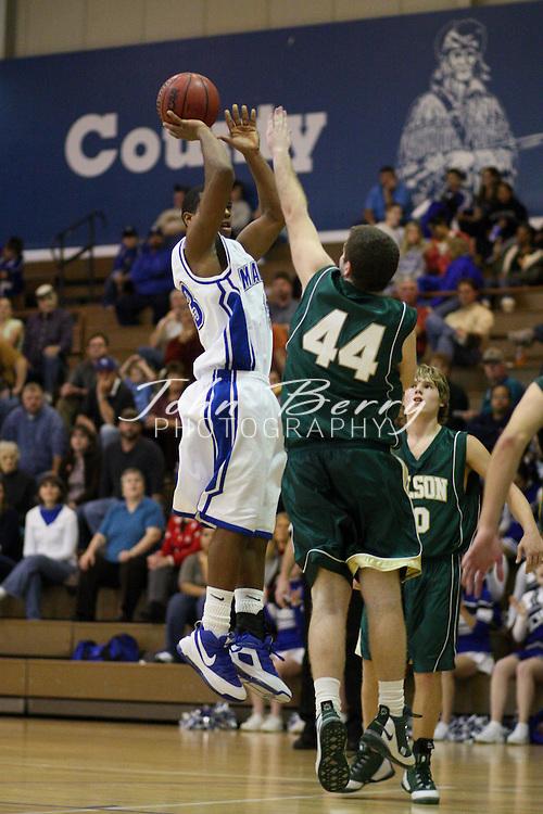 MCHS Varsity Boys Basketball .vs Wilson Memorial .12/17/2008