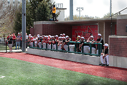 26 April 2014:   during an NCAA Division 1 Missouri Valley Conference (MVC) Baseball game between the Southern Illinois Salukis and the Illinois State Redbirds in Duffy Bass Field, Normal IL