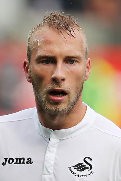 Mike van der Hoorn of Swansea City