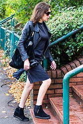 Nightmare neighbour Sandrine Lester arrives at Wimbledon Magistrates Court in London where she is accused of breaching the conditions of an ASBO which prevents her from singing loudly, wailing and playing loud music. London, September 04 2019.