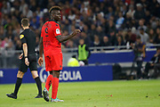 Balotelli Mario of Nice during the French championship L1 football match between Olympique Lyonnais and Amiens on August 12th, 2018 at Groupama stadium in Decines Charpieu near Lyon, France - Photo Romain Biard / Isports / ProSportsImages / DPPI