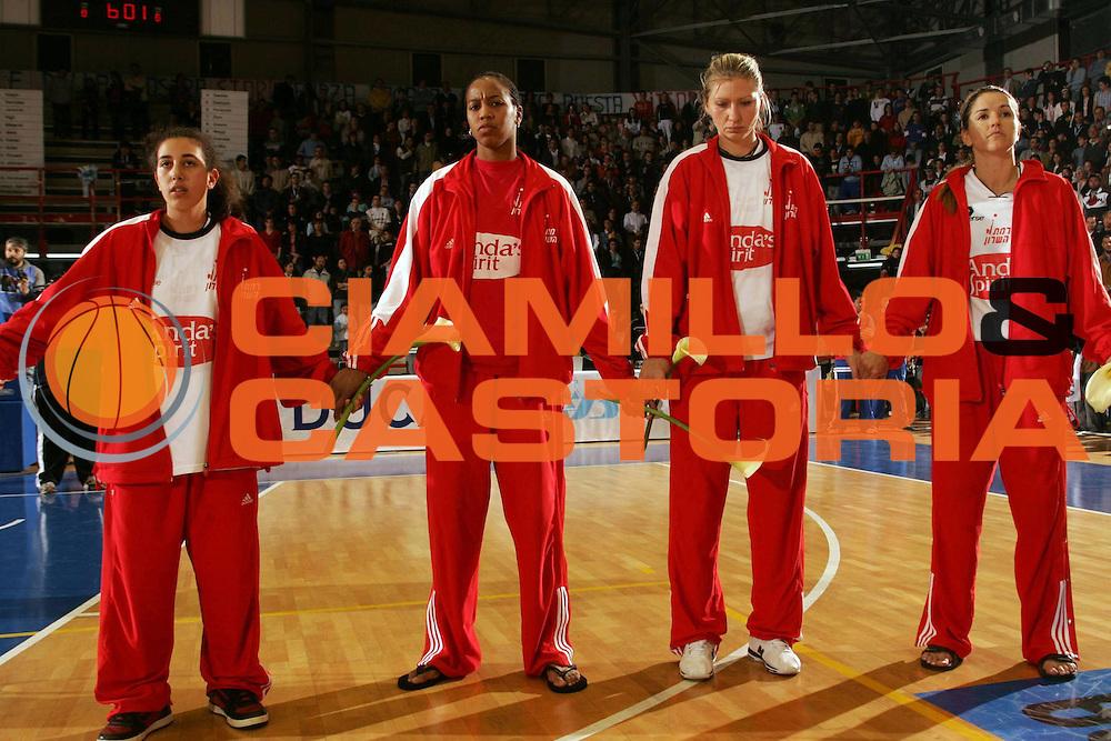 DESCRIZIONE : NAPOLI FIBA EUROPE CUP WOMEN-FIBA COPPA EUROPA DONNE 2004-2005 <br /> GIOCATORE : TRIBUTO-TRIBUTE-GIOVANNI PAOLO SECONDO <br /> SQUADRA : PHARD NAPOLI <br /> EVENTO : FIBA EUROPE CUP WOMEN-FIBA COPPA EUROPA DONNE 2004-2005 <br /> GARA : FENERBAHCE SK ISTANBUL-PHARD NAPOLI <br /> DATA : 03/04/2005 <br /> CATEGORIA : <br /> SPORT : Pallacanestro <br /> AUTORE : Agenzia Ciamillo-Castoria