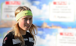 Marusa Mismas of Slovenia at training day at Hyères 2015 SPAR European Cross Country Championships, on December 12, 2015 in Hyeres, France. Photo by Saso Pahic Szabo / Sportida