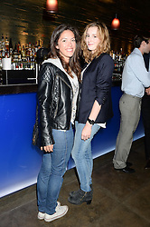 Left to right, HEATHER KING and LAURA CARMICHAEL at the launch of Dim Sum Sundays by Hakkasan at Hakkasan, Hanway Place, London on 8th September 2013.