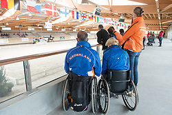 Den Dulk Nicole, (NED), Wallace NOP<br /> Grade Ib Team Test<br /> Para-Dressage FEI European Championships Deauville 2015<br /> © Hippo Foto - Jon Stroud<br /> 18/09/15