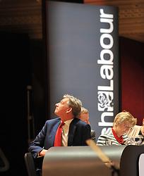 Scottish Labour leader Richard Leonard at the Scottish Labour conference at the Caird Hall in Dundee.<br /> <br /> © Dave Johnston / EEm