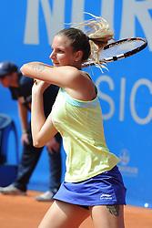 22.05.2014, Tennisanlage 1.FC Nuernberg, GER, WTA Tour, Nuernberger Versicherungscup, Viertelvinale, im Bild Punkt gemacht Karolina Pliskova (CZE) // during the quarterfinals of Nuernberg WTA tournament at the 1.FC Nuernberg tennis facility in Nuernberg, Germany on 2014/05/22. EXPA Pictures © 2014, PhotoCredit: EXPA/ Eibner-Pressefoto/ Schreyer<br /> <br /> *****ATTENTION - OUT of GER*****