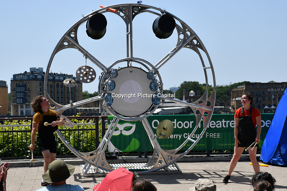 PULSE! performs at GDIF - Dancing City at Canary Wharf, on 29 June 2019, London, UK.
