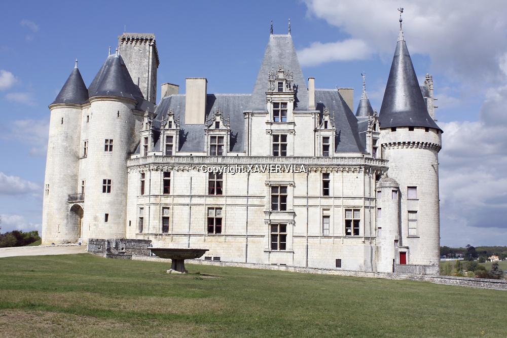 Château de la Rochefoucauld.