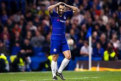 Pedro of Chelsea cuts a frustrated figure - Mandatory by-line: Robbie Stephenson/JMP - 18/04/2019 - FOOTBALL - Stamford Bridge - London, England - Chelsea v Slavia Prague - UEFA Europa League Quarter Final 2nd Leg