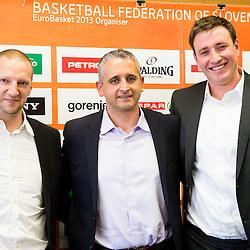 20160212: SLO, Basketball - Presentation of  Igor Kokoskov as a new head coach of Slovenian Team