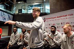 Michael Vigor of Bristol Flyers is presented to the sponsors and fans - Mandatory by-line: Robbie Stephenson/JMP - 12/09/2016 - BASKETBALL - Ashton Gate Stadium - Bristol, England - Bristol Flyers Sponsors Event
