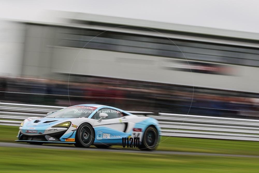 In2Racing | McLaren 570S GT4 | Richard Marsh | Gareth Howell | British GT Championship | Oulton Park | 17 April 2017 | Photo: Jurek Biegus