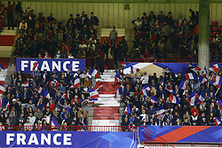 October 12, 2018 - Rouen, France - Ambiance supporters Francais (Credit Image: © Panoramic via ZUMA Press)