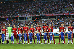 19.05.2012, Allianz Arena, Muenchen, GER, UEFA CL, Finale, FC Bayern Muenchen (GER) vs FC Chelsea (ENG), im Bild Bayern Munich team at the Final Match of the UEFA Championsleague between FC Bayern Munich (GER) vs Chelsea FC (ENG) at the Allianz Arena, Munich, Germany on 2012/05/19. EXPA Pictures © 2012, PhotoCredit: EXPA/ Mitchel Gunn