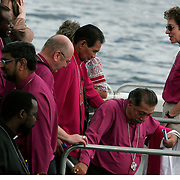 Presiding Bishop Katharine Jefferts Schori of the American Episcopal Church and first woman elected primate in the Anglican Communion, heads to Zanzibar with fellow primates to worship in the Anglican cathedral there. Leaders of the world's 77 million Anglicans, in Tanzania for a closed, six-day conference, traveled by boat from the mainland to celebrate the Eucharist in the only Anglican cathedral on this predominantly Muslim archipelago on the Indian Ocean....