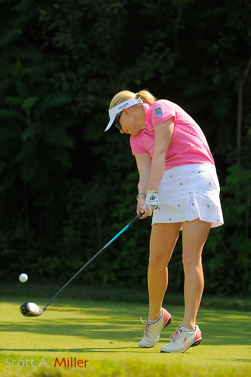 Morgan Pressel during the first round for the US Women's Open at Blackwolf Run on July 5, 2012 in Kohler, Wisconsin. ..©2012 Scott A. Miller