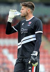 Scott Flinders of Cheltenham Town - Mandatory by-line: Nizaam Jones/JMP - 21/07/2018 - FOOTBALL - Jonny-Rocks Stadium - Cheltenham, England - Cheltenham Town v Birmingham City - Pre-season friendly